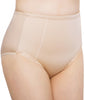 Nude Exquisite Form® Women's 2-Pack Control Top Lace Shaper Panties - Medium Control Briefs 51070261A image 2 - Brayola