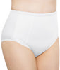 White Exquisite Form® Women's 2-Pack Control Top Lace Shaper Panties - Medium Control Briefs 51070261XA image 2 - Brayola