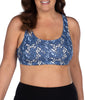 Geo Leaves Leading Lady Wirefree Active Leisure Bra 514 image 2 - Brayola