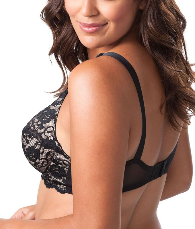 ... Leading Lady Lace Cup Underwire Full Figure Bra 5408 image 3 - Brayola a6a1aa642