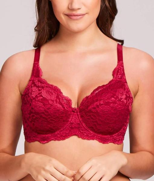 f56175c7b66a4 Q-T Intimates Kelly Lace Bra 5554Q at Brayola
