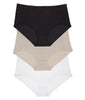 Black, White & Nude 3PK Leading Lady Comfort Fresh Cooling Panties 5800-3PK image 2 - Brayola