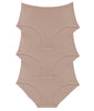 Warm Taupe 3PK Leading Lady Luxe Body Panty Briefs 5810-3PK image 2 - Brayola