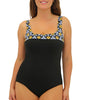 Blue Fit4U Fit 4 Ur C's Square Neck Swimsuit 801205 image 2 - Brayola