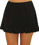 Fit4U Fit 4 Ur Hips Solid Flounch Plus Size Swim Skirt 804103