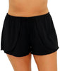 Black Fit4U Separates Fitted Swim Shorts 805108 image 2 - Brayola