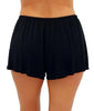 Fit4U Fit 4 Ur Hips Wrap Drawstring Swim Shorts 805301 image 3 - Brayola