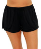 Black Fit4U Fit 4 Ur Hips Wrap Drawstring Swim Shorts 805301 image 2 - Brayola