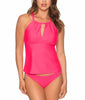 Hot Pink Sunsets Mia Tankini Top 87T image 2 - Brayola