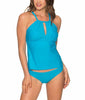 Poolside Blue Sunsets Mia Tankini Top 87T image 2 - Brayola