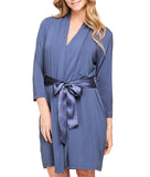 Fleur't Take Me Away Robe with Silk Wrap Belt 916