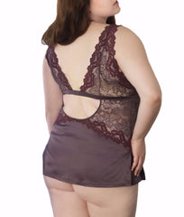 Tia Lyn Core Built-Up Plus Size Camisole 9302X image 4 - Brayola
