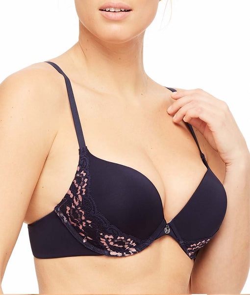 8b6720ad75b59 Astral Blue Peach Pearl Montelle Intimates Prodigy Ultimate Push-Up Bra 9315