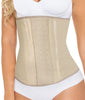 Nude Curveez Latex Thermal 3 Pos Hook Cincher Long CUR2023 image 2 - Brayola