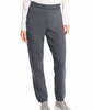 Slate Heather Hanes ComfortSoft EcoSmart Cinch Leg Sweatpants O4630 image 2 - Brayola