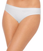 White Hanes Ultimate Smooth Tec Women's Bikini Panties 3-Pack 42ST image 2 - Brayola