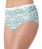 Lace Hanes Women's No Ride Up Cotton Brief 6-Pack PP40AD image 2 - Brayola