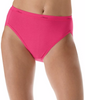Assorted Hanes Women's Plus Cotton Hi-Cut Panties 5-Pack P543WB image 2 - Brayola