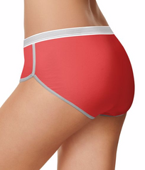 Hanes 3-Pack X-Temp Hipster Panties CA41AS image 3 - Brayola