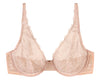 NearlyNude The Poppy Lace Plunge Bra image 11 - Brayola