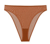 NearlyNude The Sheer Mesh High Waist Brief image 8 - Brayola
