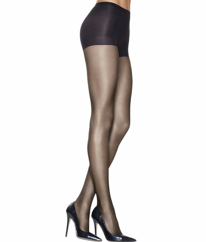0ab90c502f Barely Black Hanes Silk Reflections Lasting Sheer Control Top Pantyhose  A925 image 1 - Brayola