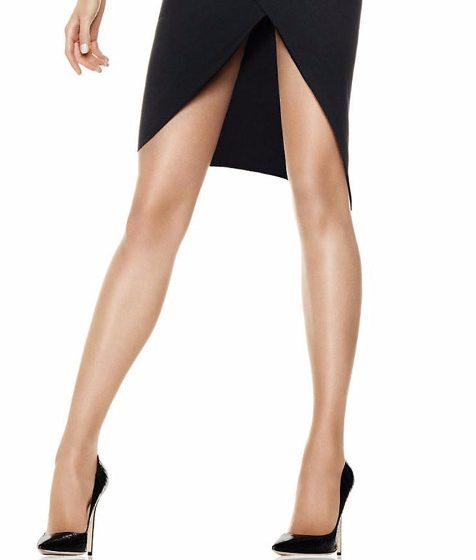 de731802d Barely There Hanes Silk Reflections Sheerest Support Control Top Sheer Toe  B750 image 1 - Brayola