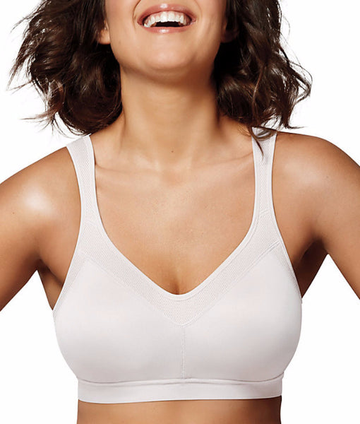 b823cb1780 White Playtex 18 Hour Active Lifestyle Wire-Free Bra 4159