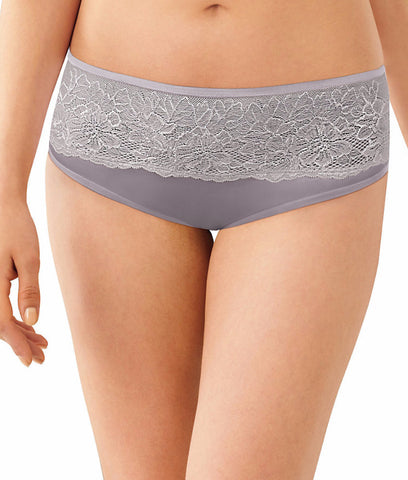 Bali One Smooth U Comfort Indulgence Satin Lace Hipster 2783