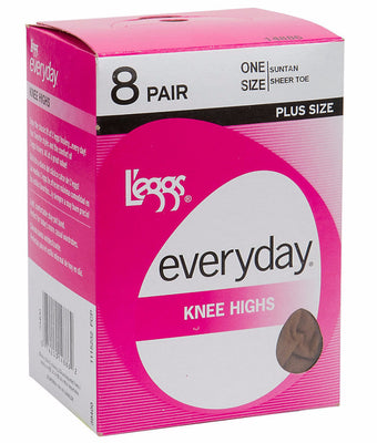 62c55c2677d L eggs Everyday Knee High 8 Pair Pack 39400