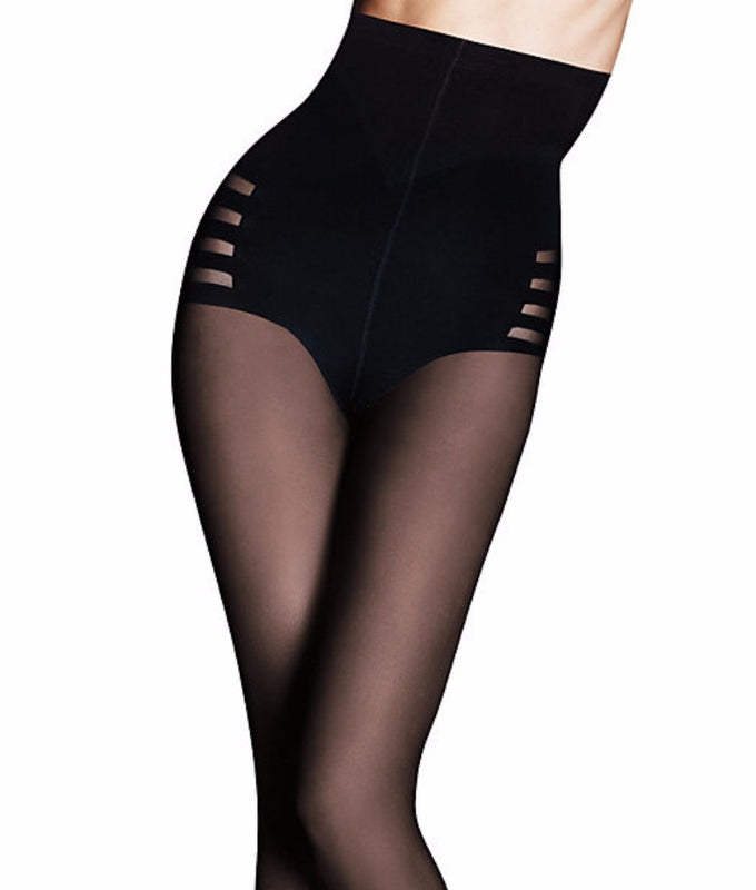 8931205bd8 Black Maidenform Sexy Shaping High Waist Body Shaper Hosiery B995 image 1 -  Brayola
