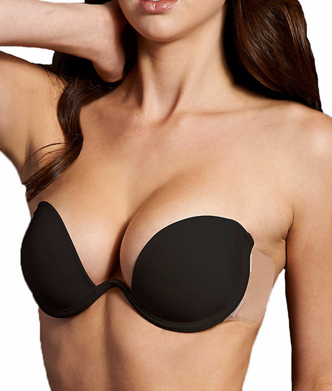 79f10515a3 Black Maidenform Combo Wings Push-Up Bra M2228 image 1 - Brayola