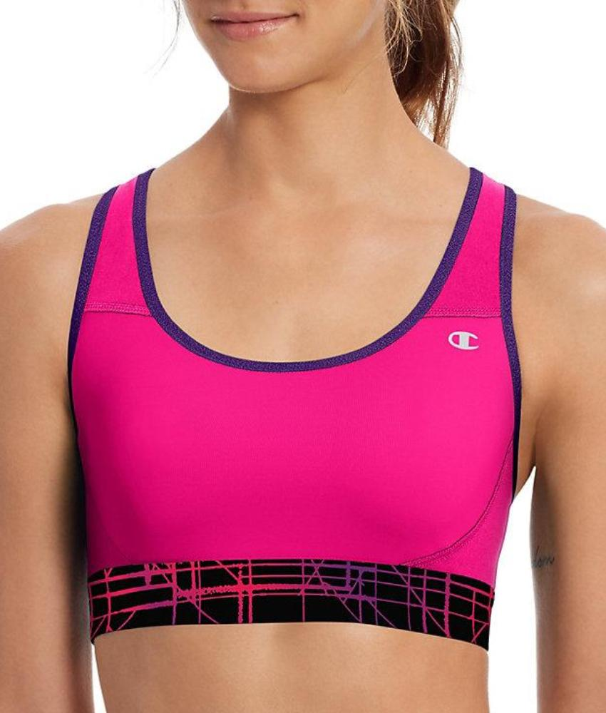 Champion - The Absolute Workout Printed Sports Bra