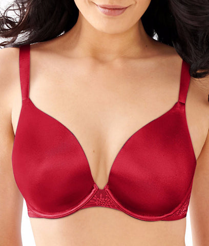 Bali Satin Desire Natural Lift T-Shirt Bra 6547