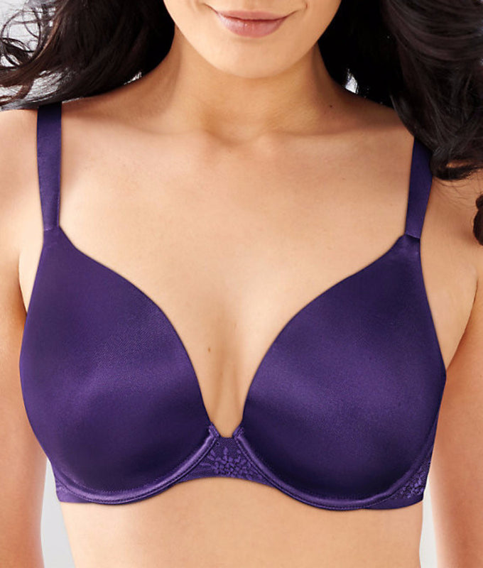 c5aba7725 Grape Radiance Tailored Bali Satin Desire Natural Lift T-Shirt Bra 6547  image 1 -