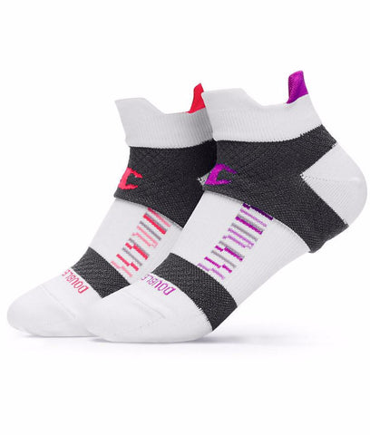 Champion Women's Double-Heel Shield Compression Running Socks 2-Pack CH659