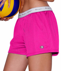 Pinksicle Champion Women's Mesh Shorts 7791 image 2 - Brayola