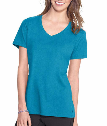 Champion Authentic Womens Jersey V-neck Tee 8875