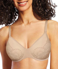 Nude/porcelain Bali Beauty Lift® Natural Lift Underwire Bra DF6563 image 2 - Brayola
