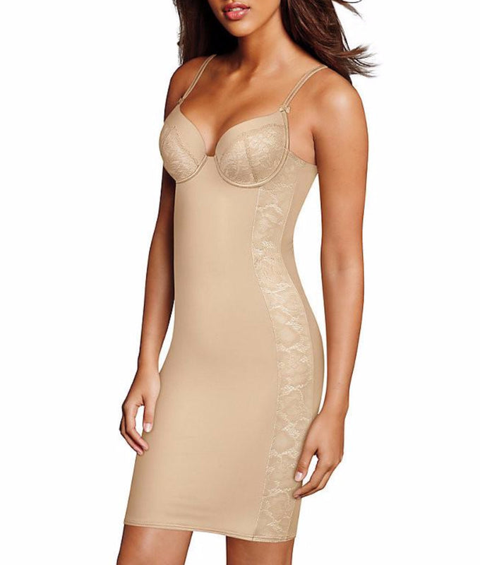 adc0ea76f Latte Lift Maidenform Firm Foundations Lift Cup Slip DM1032 image 1 -  Brayola