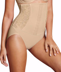 Latte Lift Combo Maidenform Firm Foundations Waist Nipping Brief M5003 image 2 - Brayola