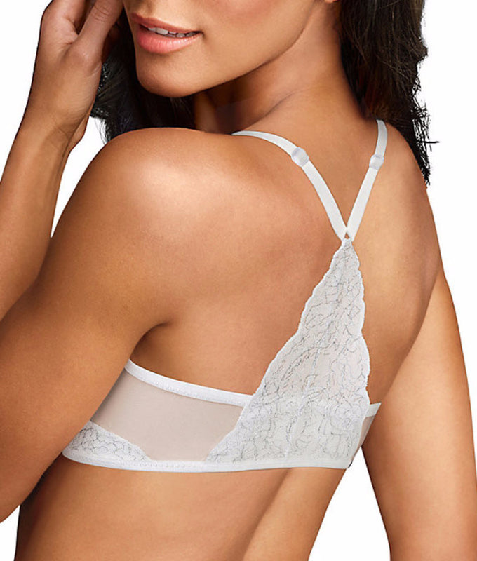 95b0ee6dfd White Maidenform Love the Lift T-Back Push-Up Bra DM9901 image 1 -