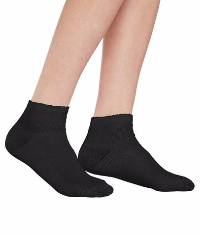 Hanes Cushioned Womens Ankle Athletic Socks 10-pack 681/10