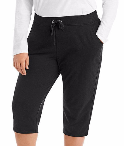 Just My Size French Terry Plus Size Capris OJ185