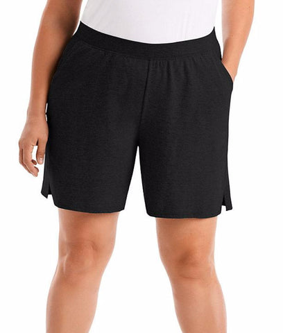 Just My Size Cotton Jersey Pull-On Women's Shorts OJ206
