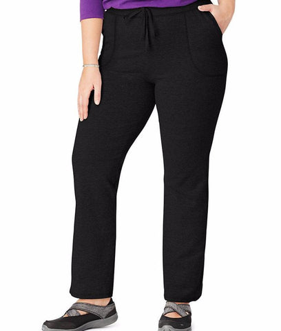 Just My Size French Terry Plus Size Pants OJ222
