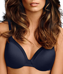 Navy Maidenform Comfort Devotion® Extra Coverage T-Shirt Bra 9436 image 2 - Brayola