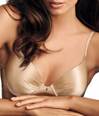 Latte Lift Maidenform Comfort Devotion Plunge Push-Up Bra 9442 image 2 - Brayola