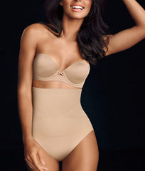 Latte Lift Maidenform Control It Firm Control High-Waist Brief 12553 image 2 - Brayola