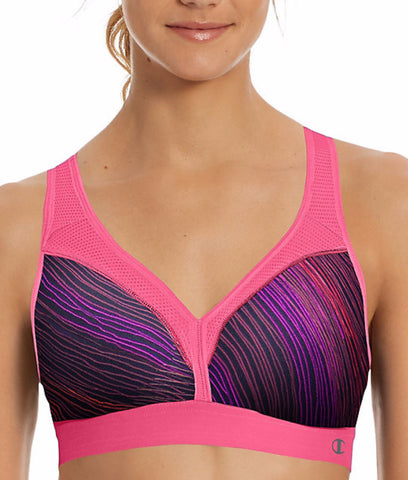 Champion The Curvy Printed Sports Bra B9373P